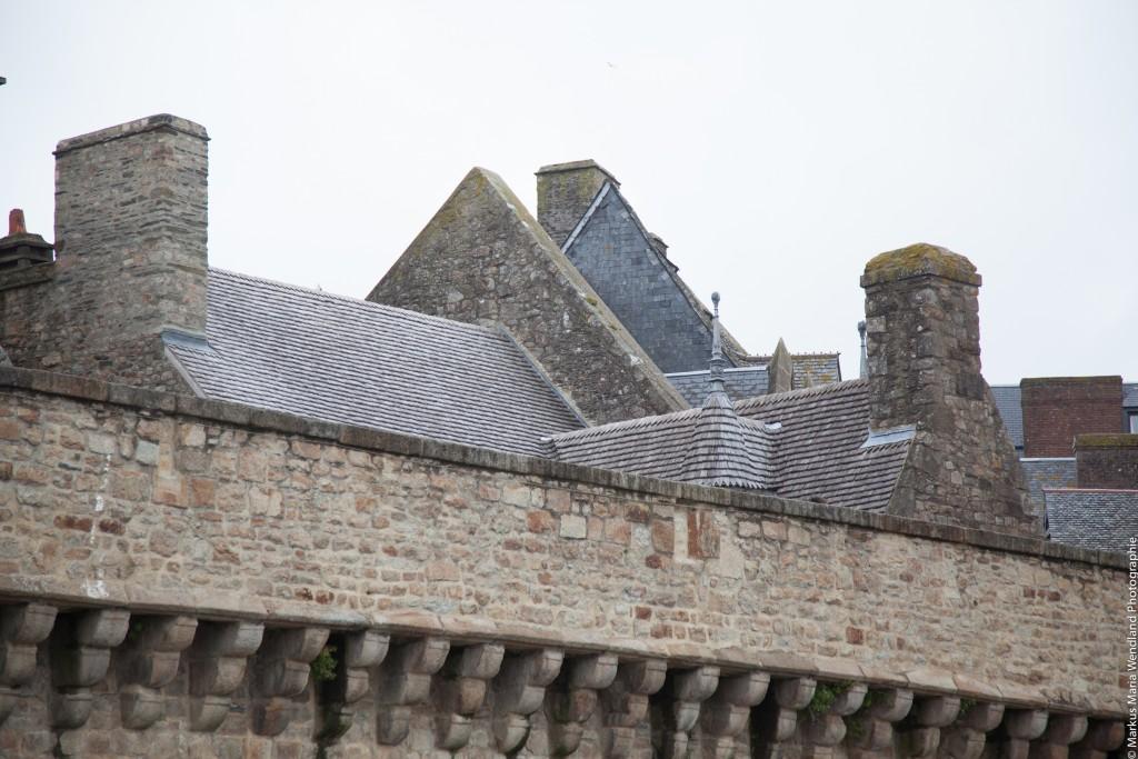 Dächer von Saint Mont Michel - 2