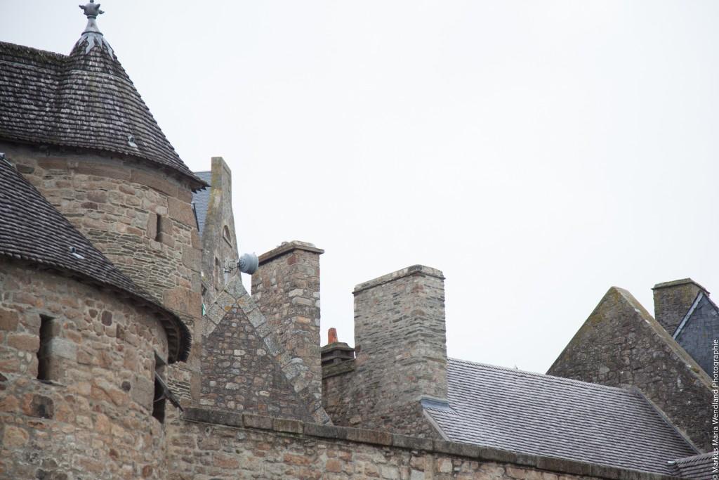 Dächer von Saint Mont Michel - 1
