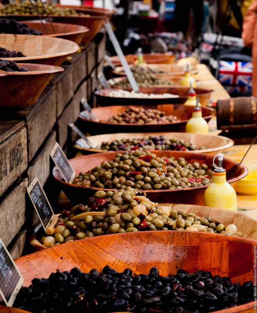 Auf dem Markt von Carnac