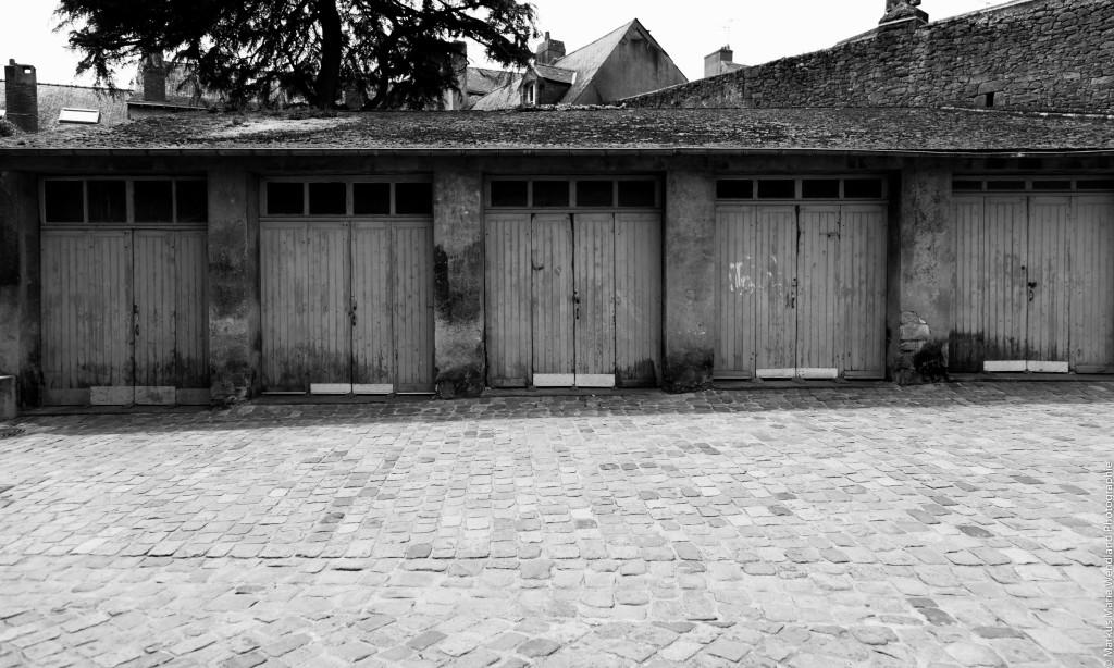Garagenhof im Stadtkern von Guérande