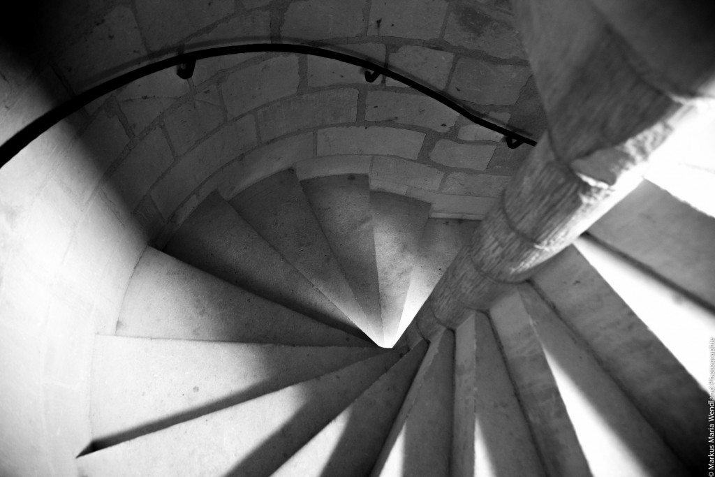 Treppe in Chinon 2