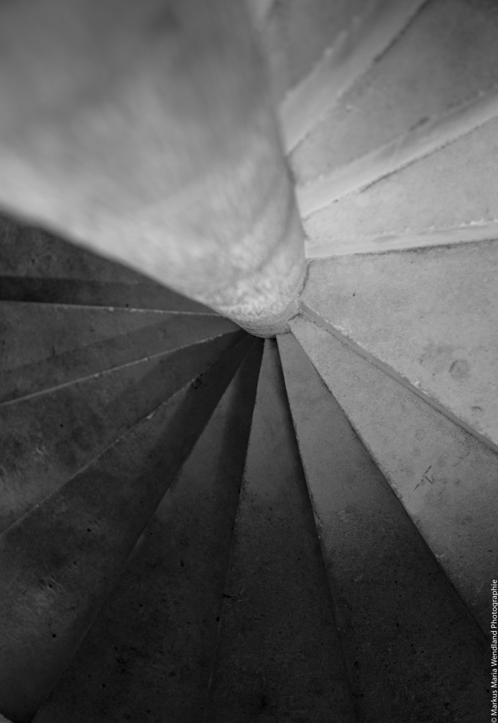 Treppe in Chinon 1